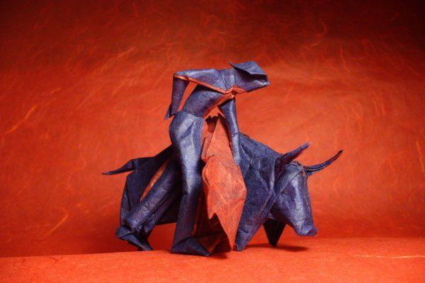 Оригами Llopio's Moment of Truth по схеме Нила Элиаса (Neal Elias)
