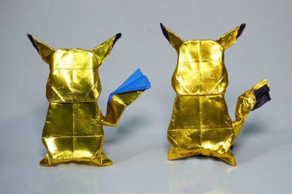 Оригами Пикачу по схеме Генри Фама (Henry Pham)