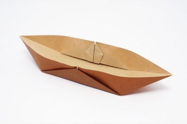 Оригами каноэ по схеме Джо Накашимы (Jo Nakashima)