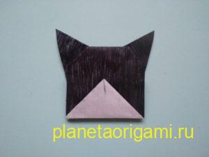 Легкие оригами бостон-терьер: инструкция с фото