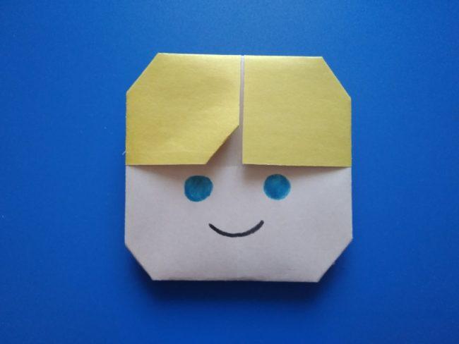 Легкие оригами мальчик: инструкция с фото