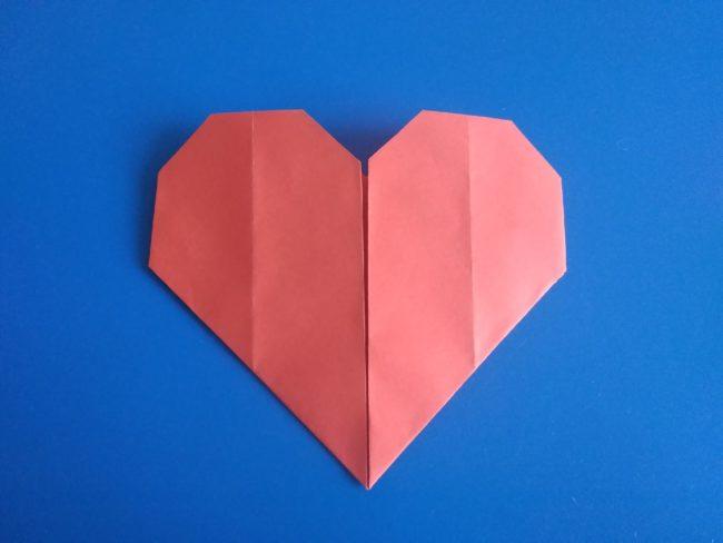 Легкие оригами сердце: инструкция с фото