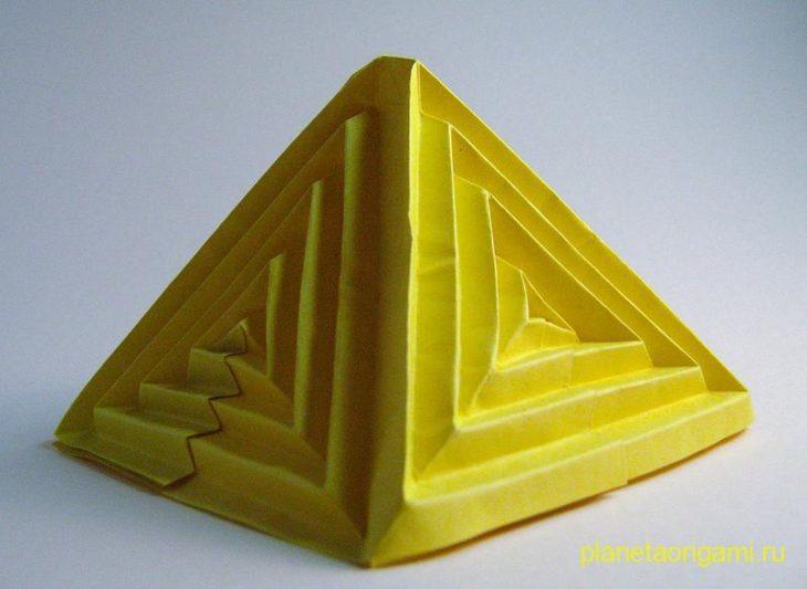 Multiple Rippling Deltoid Pyramid
