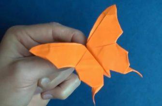 бумажная бабочка от джереми шейфера