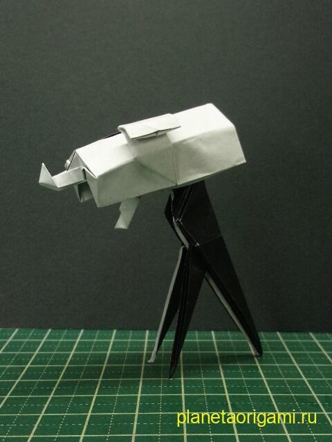 бумажный телескоп