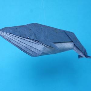 голубой кит оригами