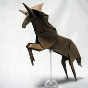 Лошадь по схеме Miyajima Noboru