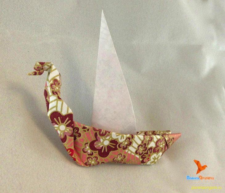 оригами новгородская ладья