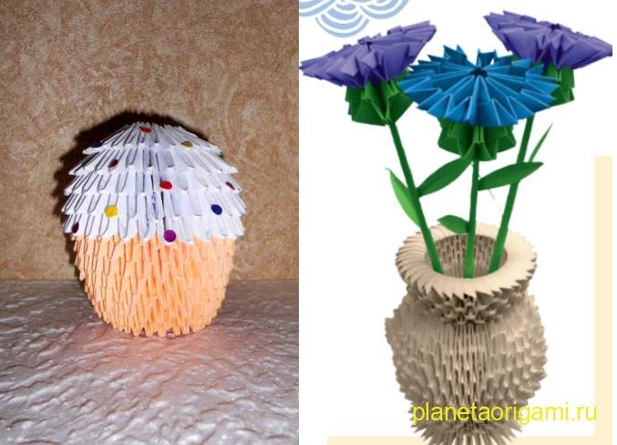 пасхальный кулич и ваза