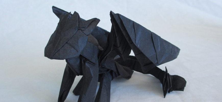 Беззубик из бумаги